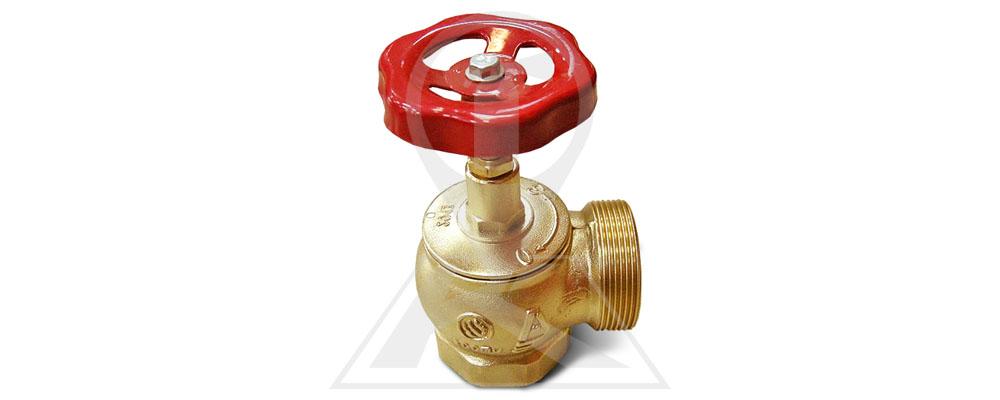 Клапан пожарный латунный КПЛМ 50-1