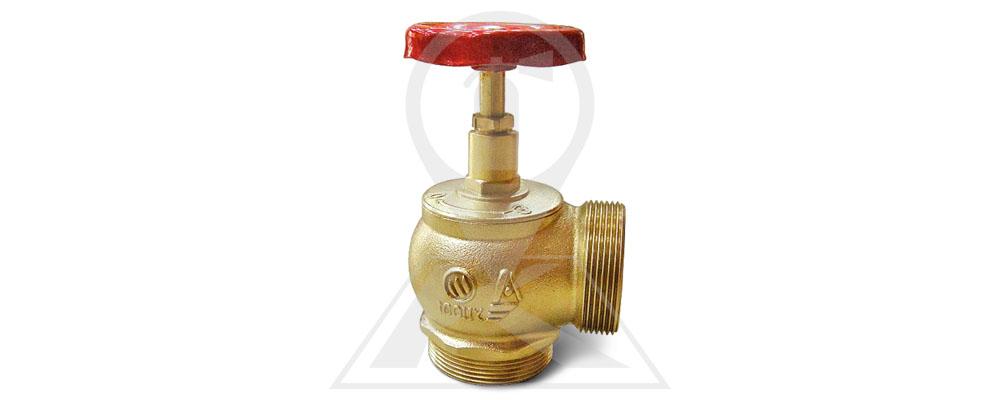 Клапан пожарный латунный КПЛМ 65-2