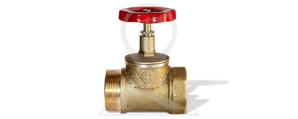Клапан пожарный латунный прямой 50-1